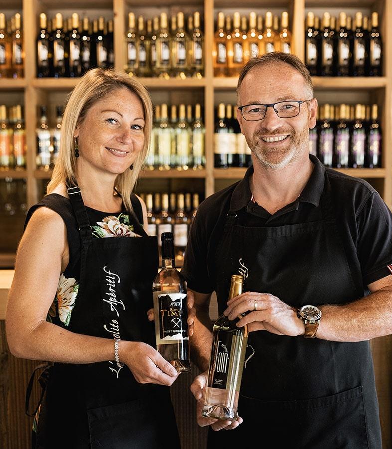 Fabrice et Nancy - Les Cuvées Vosgiennes
