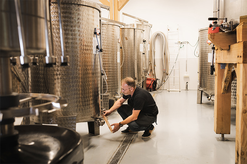 Fabrication du vin de foin